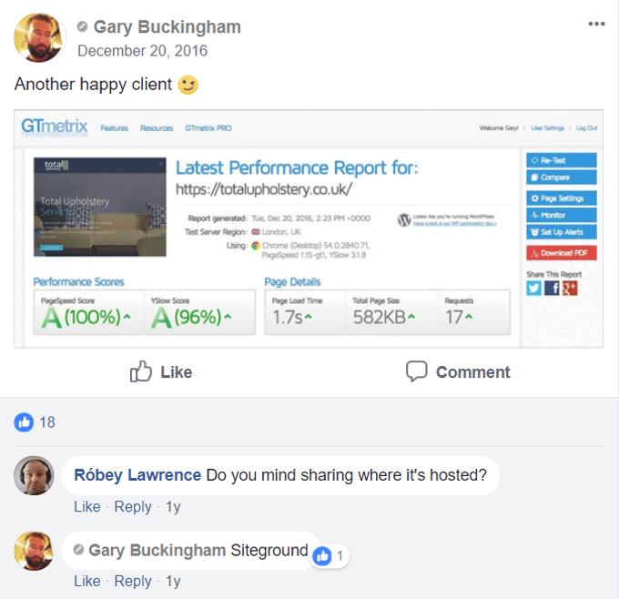 SiteGround vs. Godaddy (WordPress Hosting Review) + Facebook Polls